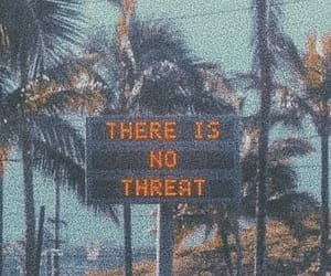 80s, palm trees, and sign image