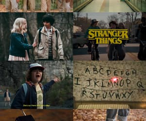 aesthetic, stranger things, and brown image