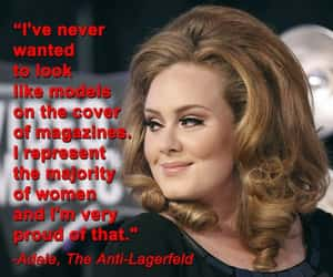 Adele, diva, and humour image