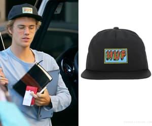 hats, male fashion, and bieber fashion image