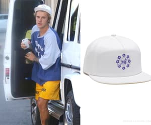 hat, justin bieber, and male clothing image