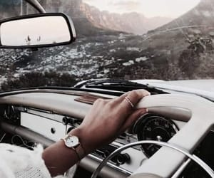 travel, car, and mercedes image