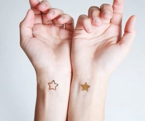 stars, art, and gold image