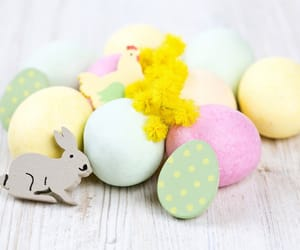 bunny, spring, and easter image