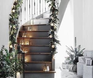 home, christmas, and decoration image