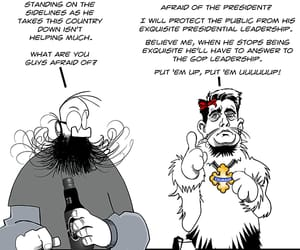 political cartoon, alternative president, and republicans image