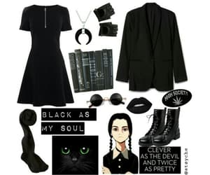 aesthetic, black, and dark image
