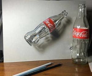 cocacola and pencildrawings image