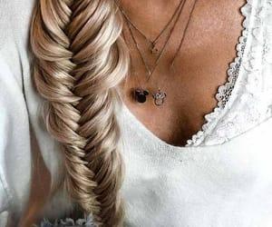 bodysuit, braid, and hair image