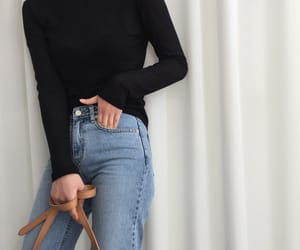 outfit, girl, and casual image