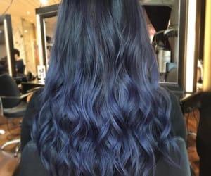 blue hair, fashion, and hair image