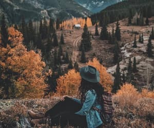 travel, adventure, and girl image