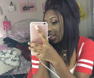 hair, makeup, and melanin image