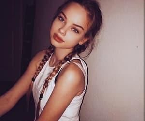 girl, beautiful, and braids image