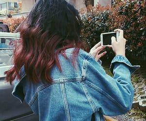 girls, hair, and shooting image