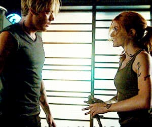 gif, clary fray, and jace herondale image