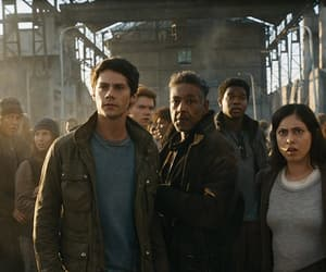 the maze runner, dylan o'brien, and the death cure image