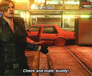 gif and leon kennedy image