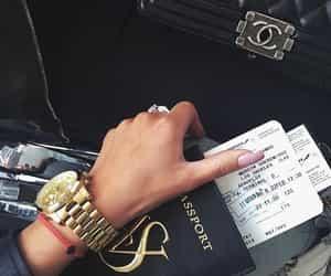 luxury, travel, and passport image