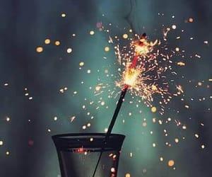 firework, copa, and fuegos artificiales image