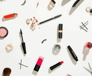 lipstick, make up, and wallpaper image