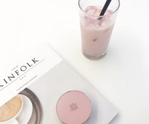 baby pink, juice, and aesthethic image