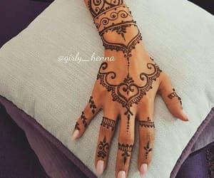 henna, nails, and beautiful image