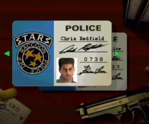 jill valentine, chris redfield, and gif image