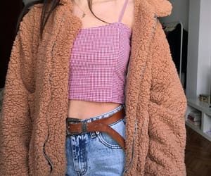 spring outfit, aesthetic outfit, and pixie coat image