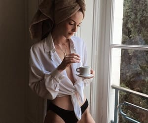 cup, fashion, and girl image