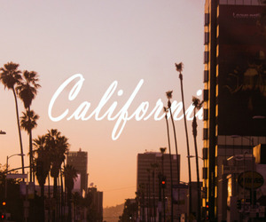 california, city, and summer image