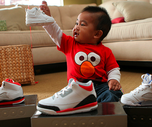 baby, cute, and elmo image