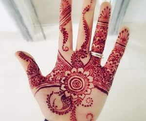 arab, art, and henna image