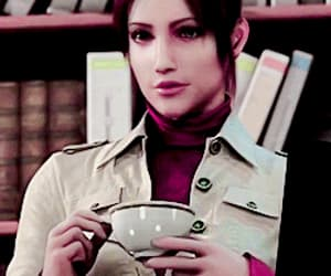 gif and claire redfield image