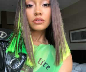 green, tokyo, and leigh-anne pinnock image