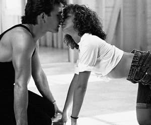 dirty dancing, love, and couple image
