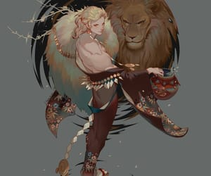 Leo and zodiac signs image