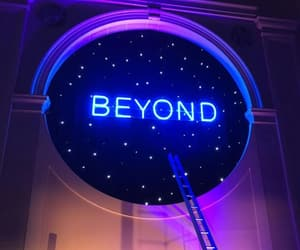 neon, beyond, and blue image