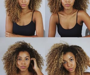 curls, curlyhair, and model image