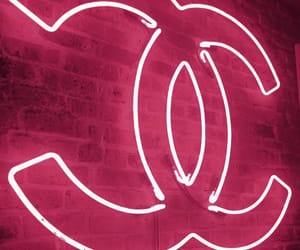 neon, chanel, and light image