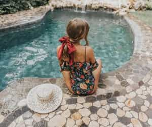 pool and summer image
