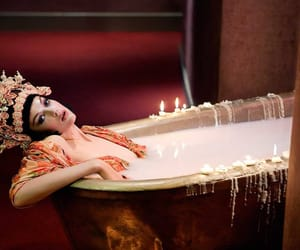 asian, bathroom, and candles image
