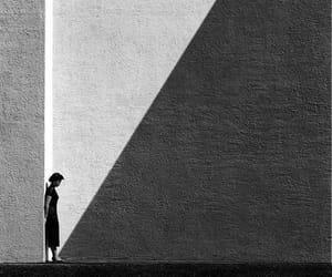 arte, shadow, and people. art image