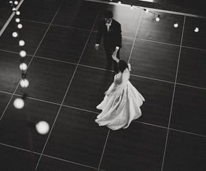 wedding, couple, and dance image