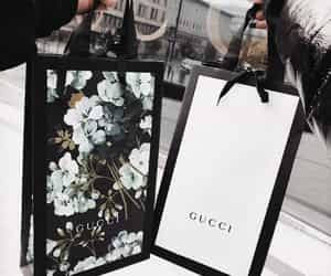 gucci, shopping, and bag image