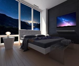 bedroom, design, and luxury image