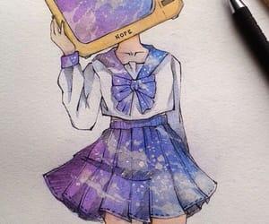 tv, anime, and art image