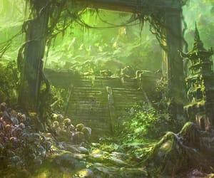 fantasy, mystic, and fairy world image