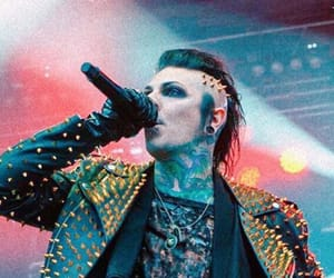 concert, motionless in white, and chris motionless image