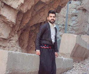 fashion, model, and kurdish image